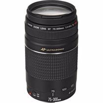 Lente Canon Ef 75-300mm F/4-5.6 Iii Usm +pronta Entrega
