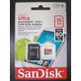Cartão Micro 16gb 48mb/s Ultra Sandisk Classe 10  Frete 8,00