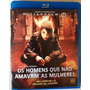 Blu-ray Millennium Os Homens Que Não Amavam As Mulheres