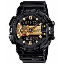 Relógio Casio G-shock Bluetooth Modelo Gba-400-1a9dr