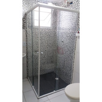 Box Para Banheiro - Vidro Cristal Incolor 8mm Temperado