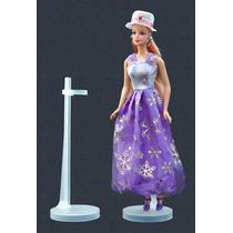 Suporte (5 Peças) Barbie, Susi, Monster High, Ken, Princesas