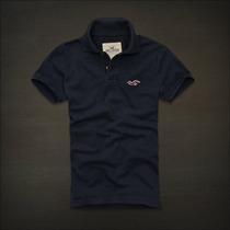 Camisa Polo Masculina Camiseta - Hollister - Várias Cores