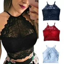 6172c0794 Busca Cropped renda com os melhores preços do Brasil - CompraMais ...