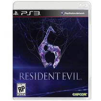 Jogo Resident Evil 6 Para Playstation 3 (ps3) - Capcom