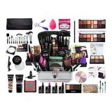 Maleta De Maquiagem Completa Ruby Rose Super Essencial