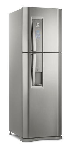 Geladeira Auto Defrost Electrolux Dw44 Platinum Com Freezer 400l 127v