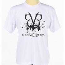 Camisa Camiseta Estampada Banda Rock Bvb Black Veil Brides