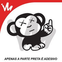 Adesivo Macaco Jdm Euro Look Turbo Aspirado Sticker Monkey