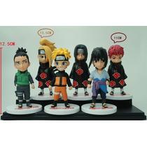Bonecos Naruto Kit Com 6 Sasuke Deidara Itachi Sasori Shikam