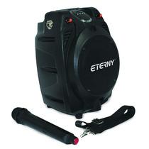 Caixa Amplificada Eterny Et43006ab,80w, Bateria E Microfone