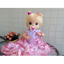Boneca Da Miracle Baby Alive Reborn Ananda Fala Português