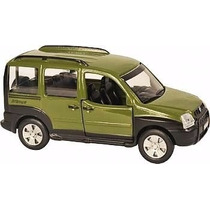 Miniaturas Metal Carros Do Brasil Fiat Doblo Adventure 11 Cm