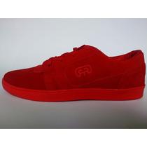 Tênis Hocks Del Mar Lite (vermelho E Preto ) Skate Sneaker