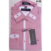Camisa Social Armani, Tommy, Ralph Lauren, Sergio K, +