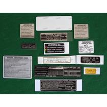 Adesivos Advertência Honda Cbx 750 88 Originais 7galo