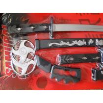 Fantasia Armas Ninja Espada Samurai Kitana Estrela Soco Faca