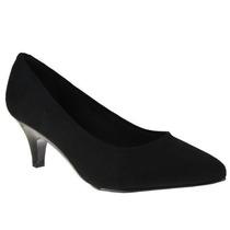 Scarpin Beira Rio Salto Sapatos Femininos + Curso Make