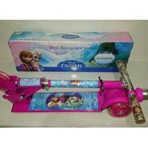 Patinete Infantil Frozen 3 Rodas Lançamento Disney Menina