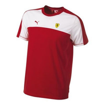 Camiseta Puma Ferrari Original Sf Tee Rosso G