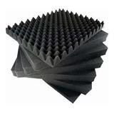 Espuma Acústica C. O. 12 Placas - 50x 50x 3,5cm  -antichama