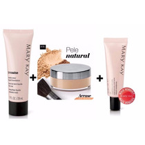Kit Base Liquida + Base Em Pó + Primer Facial Mary Kay !!