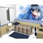 Papel De Parede Adesivo Manga Anime Desenho 9m² (3 X 3)