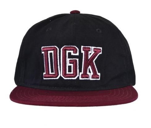 Bone Dgk Clutch Strapback Dad Hat Aba Reta Preto Original fc19d39ca3e