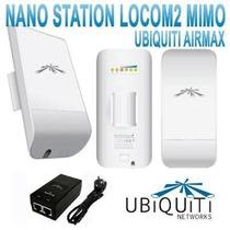 Ubiquiti Airmax Nanostation Nano Loco M2 Mimo 8dbi 2.4