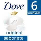 Sabonete Em Barra Dove  Branco 90g 6 Unidades