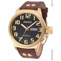 Relógio Magnum Masculino Ma32952p 2 Anos De Garantia
