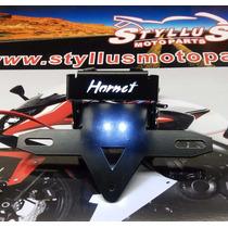 Eliminador Rabeta Articulado Honda Cb600f, Hornet,12-14, Led