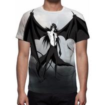 Camisa, Camiseta Anime Bleach - Ulquiorra Cifer