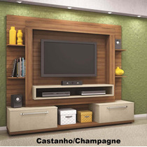 Estante Home Theater Maximus 2.07m Rack Bancada P/tv Led Lcd