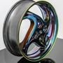 Kit Tinta Cromo Efeito Titanium 500ml + 3 Candys Roda Moto