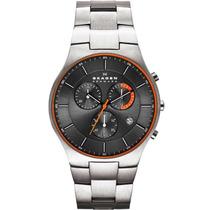Relógio Masculino Skagen Skw6076/z 42mm Prata