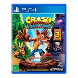 Crash N Sane Trilogy Trilogia Ps4 Lacrado Mídia Física