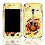 Capa Adesivo Skin373 Galaxy Ace Duos Gt-s6802b + Kit Tela