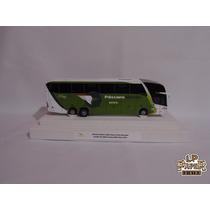 Miniatura Ônibus Viação Pássaro Verde Marcopolo Paradiso G7