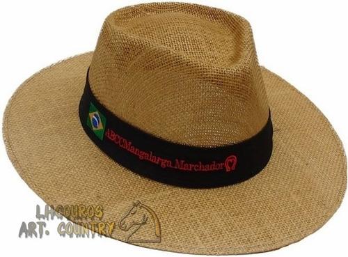 021eb01a21a3f Chapéu Mangalarga Marchador Juta Marrom Promoção