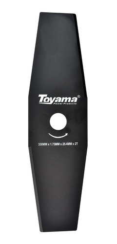 Lâmina Com 2 Pontas Para Roçadeiras Tcb33025217 Toyama