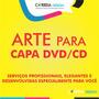 Arte Para Capa Cd Dvd Criação Criar Capa Personalizada