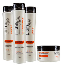 Kit Tratamento Manutenção Pos Progress Mandioca Light Hair