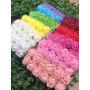 144 Mini Rosas De Eva Rosinha Artificial - Pacote Cor Única