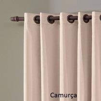Cortina Blackout E Voil Renove 3,00x2,50 Corta Luz Renove