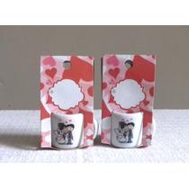 Canecas Em Porcelana Personalizada Mini Mug Decorado R$ 2,80