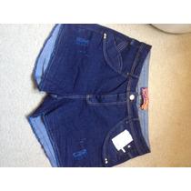 Shorts Jeans Feminina Plus Size