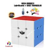 Cubo Mágico Profissional 3x3x3 56mm Cyclone Boys + Brinde