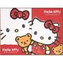 Papel De Carta 3 Hello Kitty 4 Folhas Diferentes+2 Envelopes