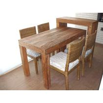 Mesa Aparador Cadeiras Para Varanda E Churrasqueira